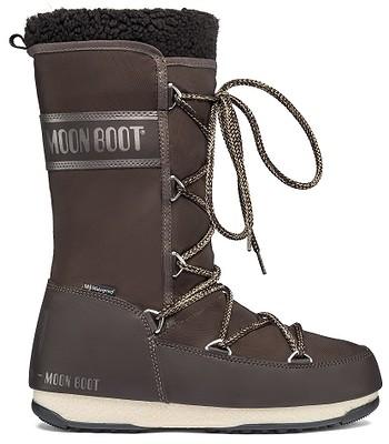 boty Tecnica Moon Boot Monaco Wool WP - Dark Brown