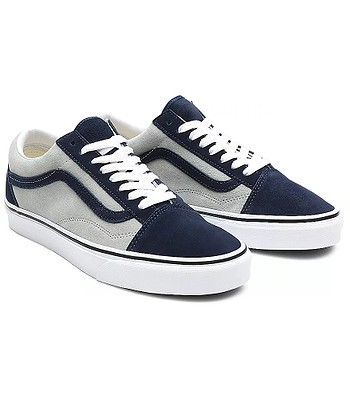 shoes Vans Old Skool - 2 Tone Suede/Dress Blues/Mineral Gray