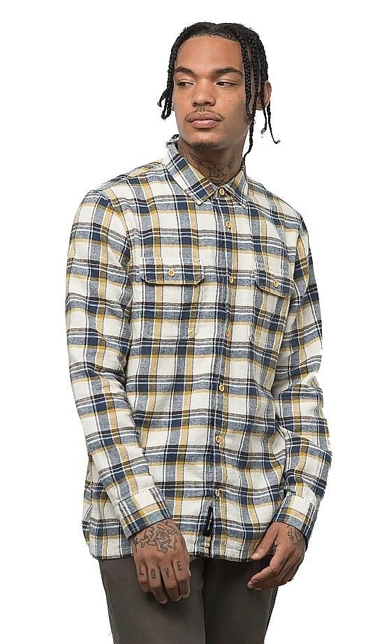 chemise Vans Bloomfield LS - Natural - men´s