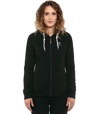 sweatshirt Horsefeathers Leone Zip - Black - women´s