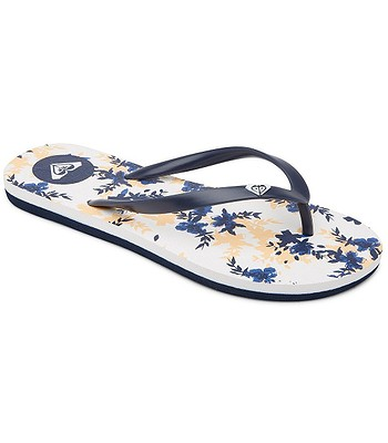 flip flops  Roxy To The Sea Ditsy - NWH/Navy/White - women´s