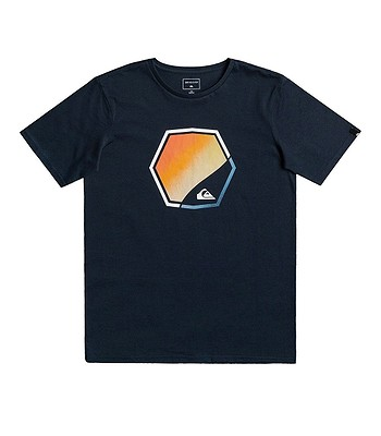 T-Shirt Quiksilver Fading Out - BYJ0/Navy Blazer - boy´s