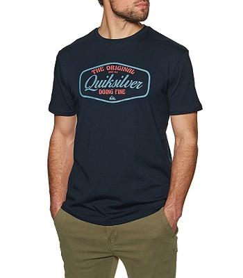 tričko Quiksilver Cut To Now - BYJ0/Navy Blazer