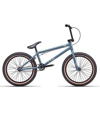 "vélo CTM Pop 20"" Hi-Ten BMX - Matte Steel Blue"
