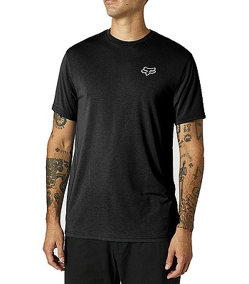 T-Shirt Fox Burnt Tech - Black - men´s