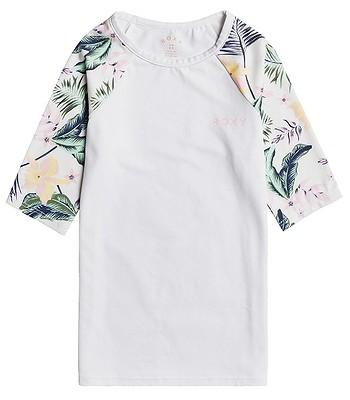 tričko Roxy Printed Style 2 - WBB7/Bright White Rg Praslin
