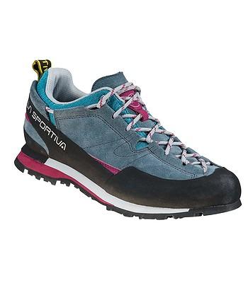 shoes La Sportiva Boulder X - Slate/Red Plum - women´s
