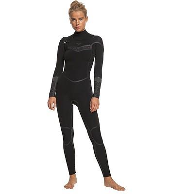 neoprén Roxy 4/3 Syncro Plus Chest Zip Wetsuit - XKKK/Black/Black