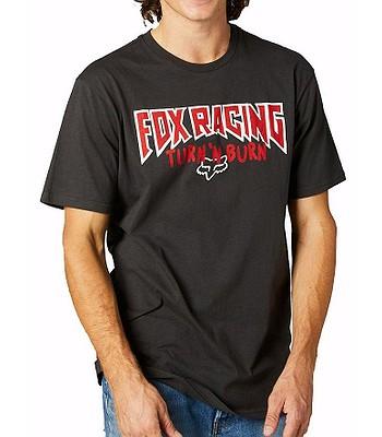 T-Shirt Fox Roadie Premium - Black Vintage - men´s