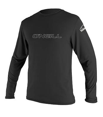 tričko O'neill Basic Skins Sun Lycra LS - Black