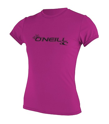 tričko O'neill Basic Skins Sun Lycra - Fox Pink