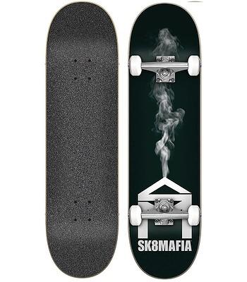 skateboard Sk8Mafia House Logo Complete - Smoke