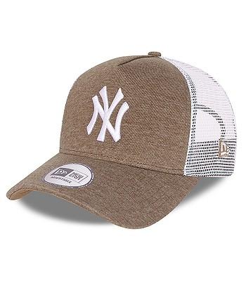 cap New Era 9FO AF Tonal Jersey Trucker MLB New York Yankees - Wheat - men´s
