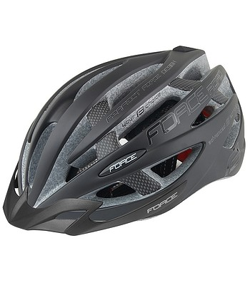 helmet FORCE Road - Black Matt/Glossy