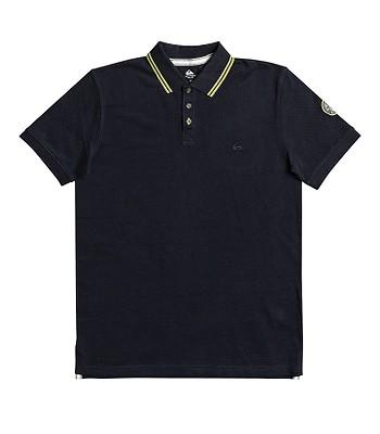 T-Shirt Quiksilver Sportlines Loia Polo - BYJ0/Navy Blazer - men´s