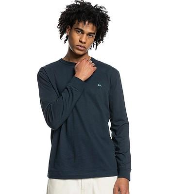T-Shirt Quiksilver Essentials LS - BYJ0/Navy Blazer - men´s