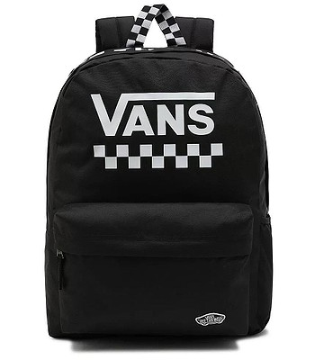 backpack Vans Street Sport Realm - Black/White Checkerboard - women´s