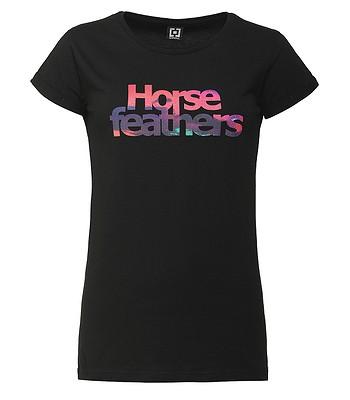 tričko Horsefeathers Chelsea - Black