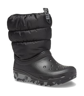 shoes Crocs Classic Neo Puff Boot - Black - unisex junior