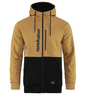 sweatshirt Horsefeathers Zach Zip - Spruce Yellow - men´s