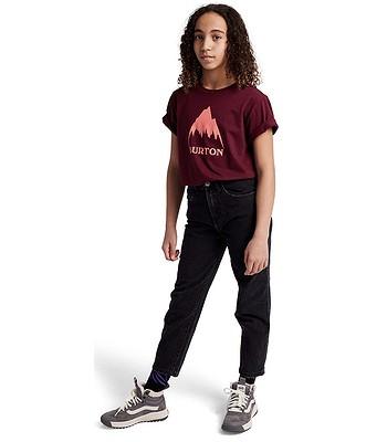 T-Shirt Burton Classic Mountain High - Mulled Berry - unisex junior