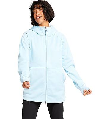 sweatshirt Burton Minxy Zip - Crystal Blue Heather - women´s