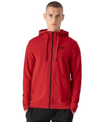 sweatshirt 4F NOSH4-BLM353 Zip - 62S/Red - men´s