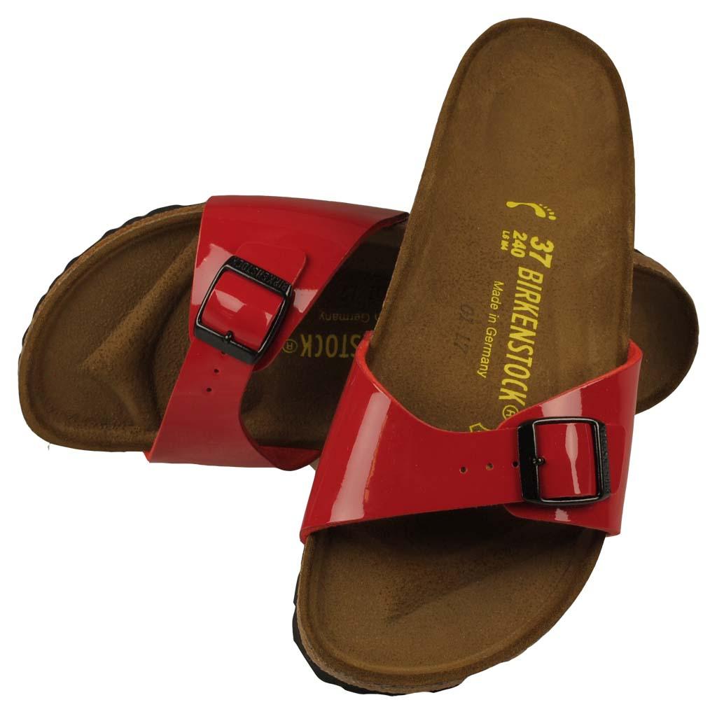 buy online 56b62 ad000 sandály Birkenstock Madrid - Tango Red Lack BF - Snowboard ...