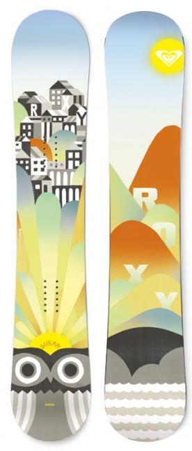 a4b292a531 snowboard Roxy Sugar Banana - OWL - Snowboard shop