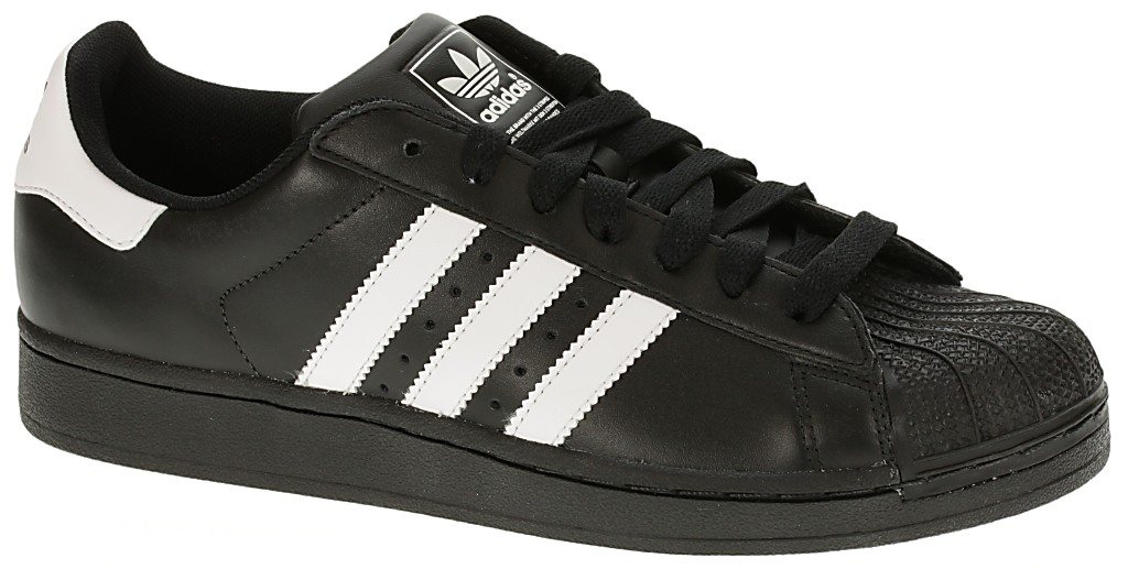d233701e3c5 Boty Adidas Superstar II - Black White Black   Předchozí Další