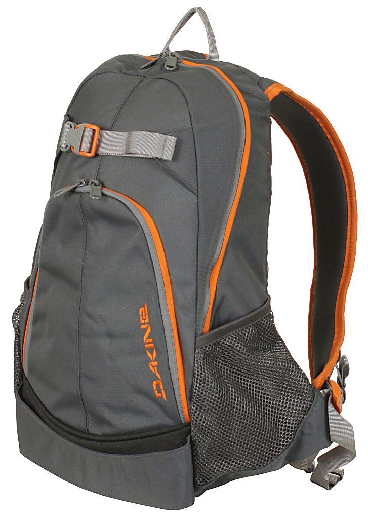 0b37385cc311e backpack Dakine Pivot - Charcoal Orange - Snowboard shop
