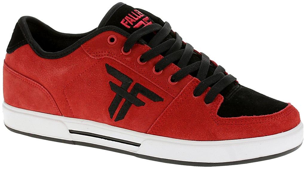 cf898aa399 boty Fallen Patriot II - Red Black - skate-online.skate-online.cz
