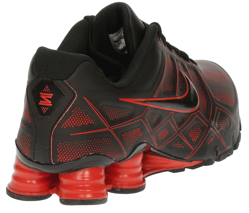 eeef60946c20 boty Nike Shox Turbo XII SL - Black Black Challenge Red Neutral Gray ...