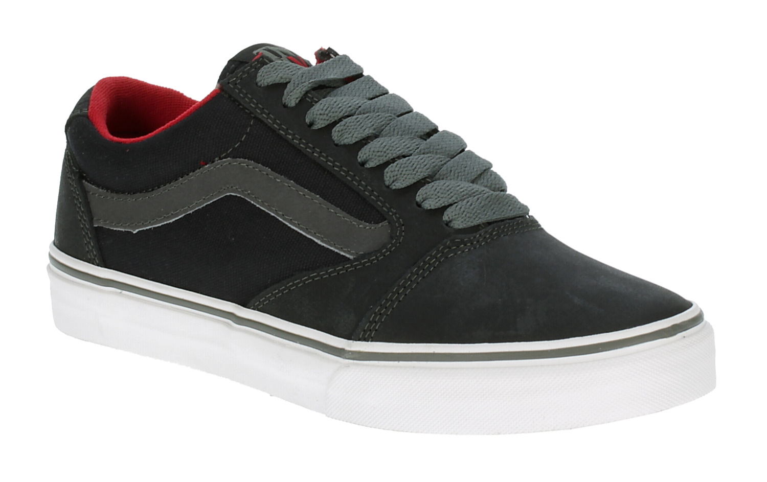 ee9bf9e6e32a50 shoes Vans TNT 5 - Black Charcoal Scarlet - Snowboard shop ...