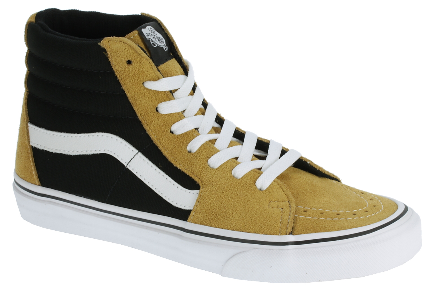 0daffb42157044 shoes Vans SK8-Hi - Suede Honey Mustard Black - Snowboard shop ...