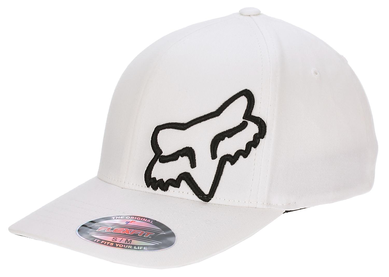 994e1c4299a kšiltovka Fox Flex 45 Flexfit - White - Snowboard shop