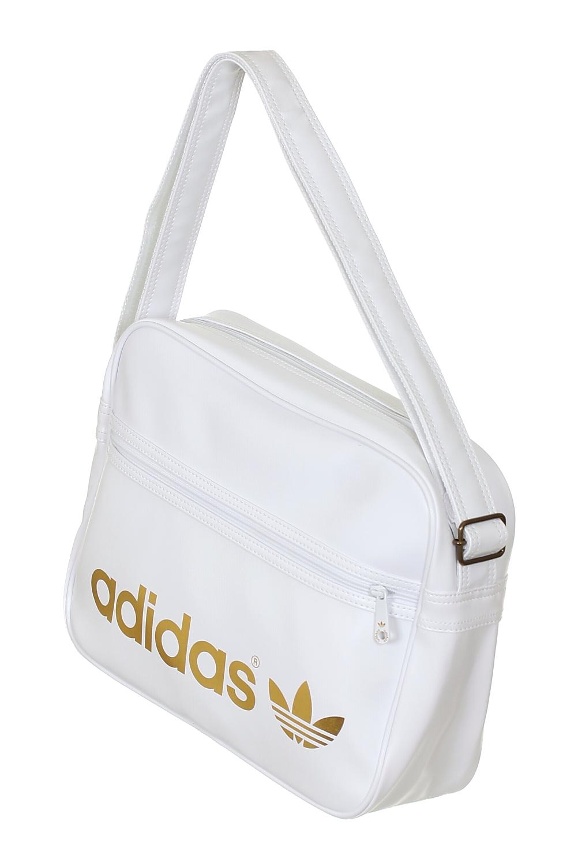 taška Adidas AC Airline - White Metal Gold - Snowboard shop ... 4312274293aee