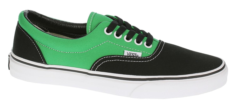 shoes Vans Era - 2 Tone Black Bright Green - Snowboard shop ... dc8411ba5c49