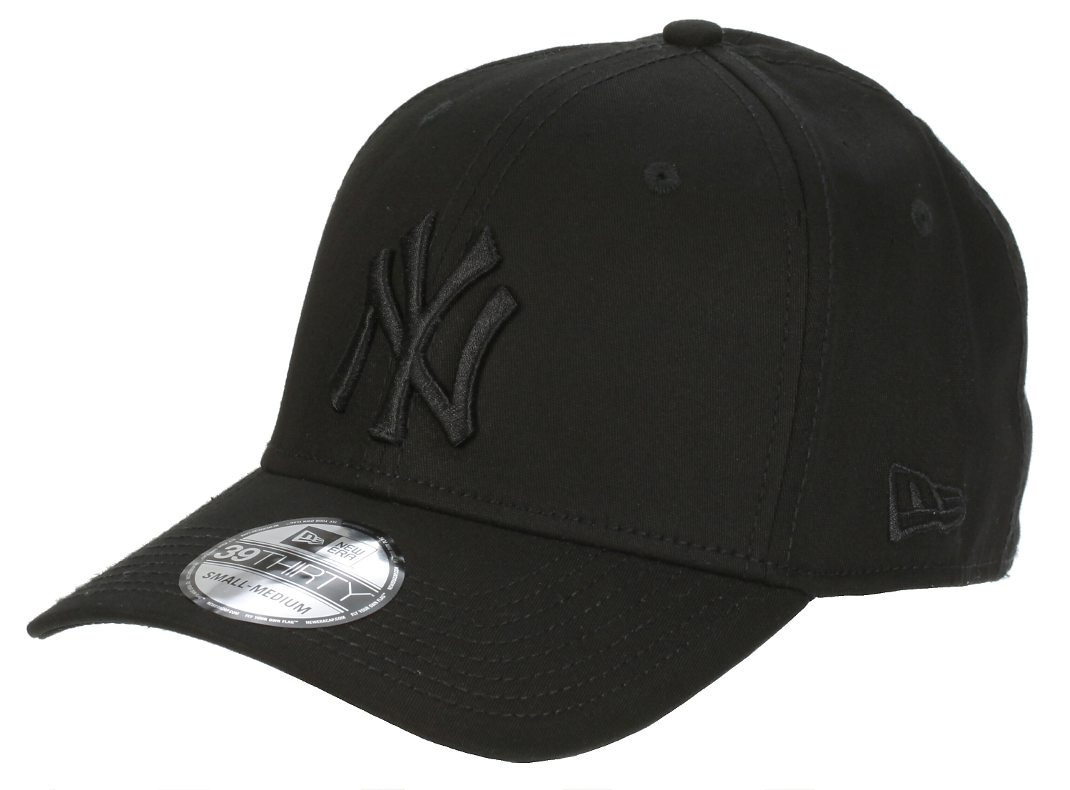 šiltovka New Era 39T League Basic MLB New York Yankees - Black On Black