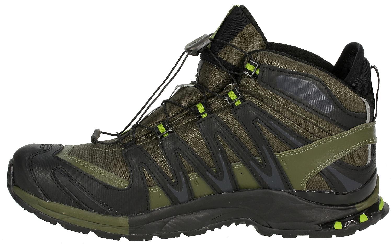 shoes Salomon XA Pro 3D MID LTR GTX Bayou GreenBlack