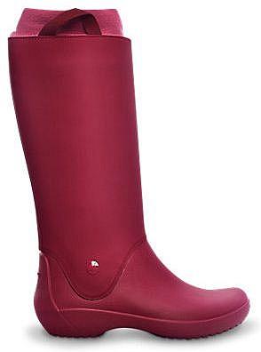 boty Crocs Rain Floe - Pomegranate Pomegranate 36 37 1057a5e219