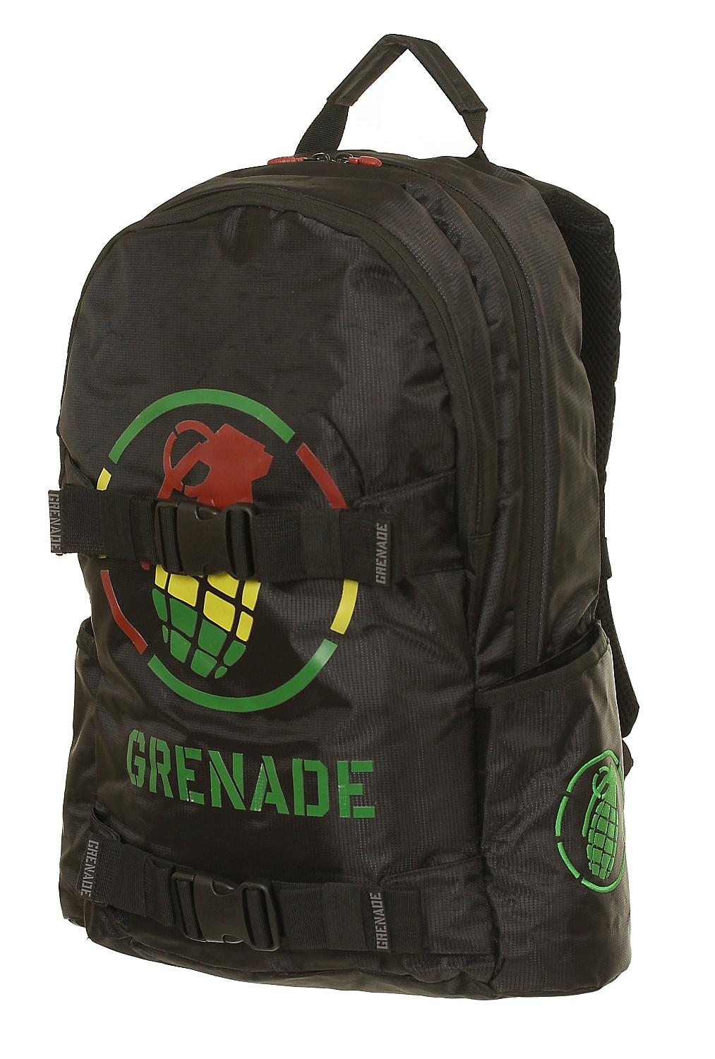 batoh Grenade Logo - Rasta - batohy-online.cz bf005bb904