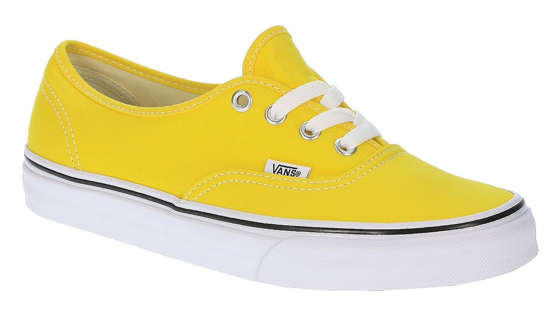 0c6f30182b1e Vans Authentic Shoes - Cyber Yellow True White - Snowboard shop ...