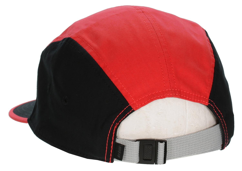 cap Nike SB Blocked 5 Panel - 600 Light Crimson Black Base Gray ... 63ac6806c700