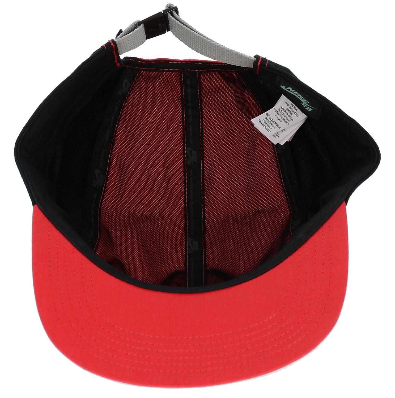 ... cap Nike SB Blocked 5 Panel - 600 Light Crimson Black Base Gray ... 94cdda5b6595