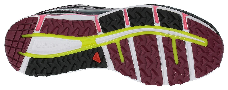 1d53ea352954 Salomon X-Wind Pro W Shoes - Black Bordeaux Fluo Pink - Snowboard ...