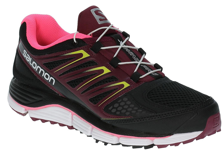 4d054cca2459 Salomon X-Wind Pro W Shoes - Black Bordeaux Fluo Pink - Snowboard shop