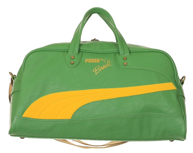 taška Puma Brasil Grip Bag - Medium Green Vibrant Yellow - Snowboard ... c102376ab4cfe