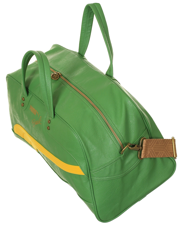 bag Puma Brasil Grip Bag - Medium Green Vibrant Yellow - Snowboard ... 7227583c1b115
