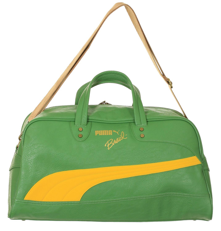 taška Puma Brasil Grip Bag - Medium Green Vibrant Yellow - Snowboard shop 08818432d1412